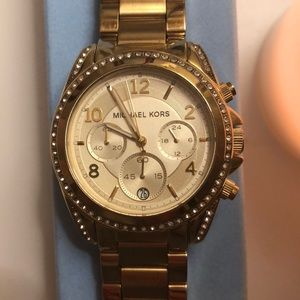 Michael Kors Gold Watch (model no. 5166)